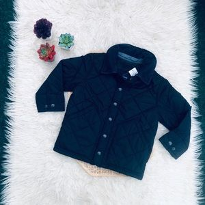 Baby Gap Quilted Jacket In True Navy NEW
